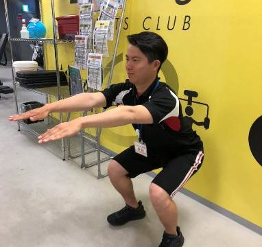脚部のトレーニング①