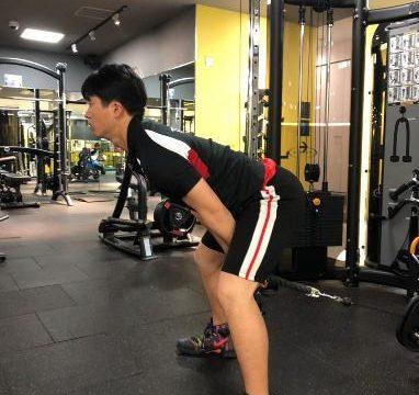 脚部のトレーニング②