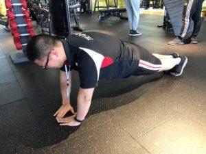 胸部のトレーニング種目