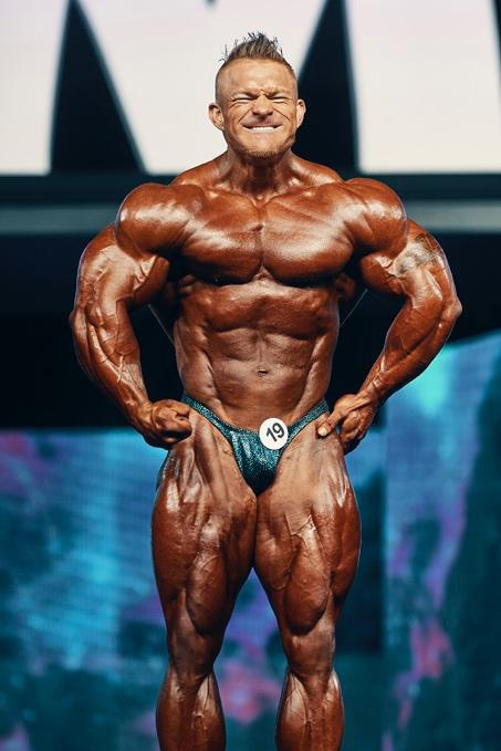 世界で最も権威のあるフィットネス大会Mr.Olympia で活躍する選手